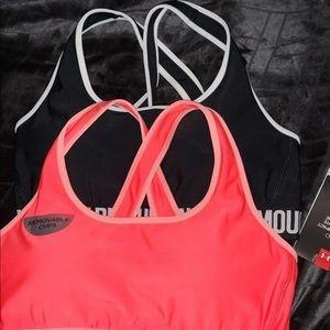 New UA Sports bras